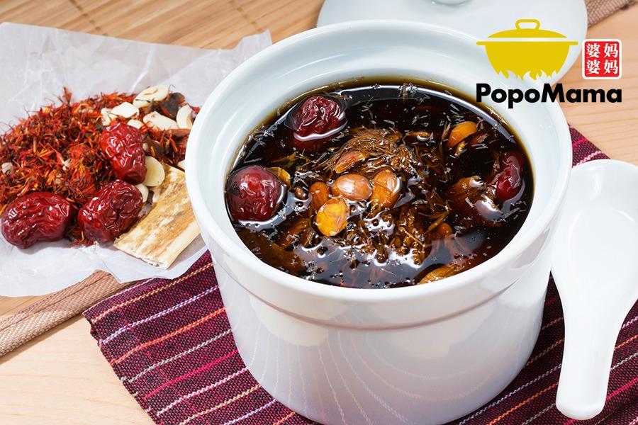 Rejuvenating Herbal Soup – Dang Gui Nourishing Soup 当归补血汤