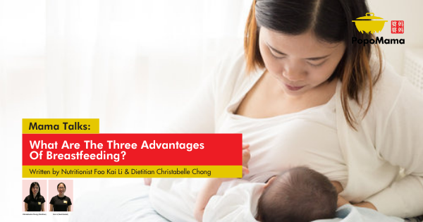 What Are The Three Advantages Of Breastfeeding?